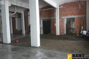 Полусухая стяжка в реставрируемом здании