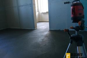 Полусухая стяжка в новостройке Одинцово